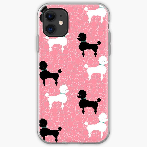 Pink Poodle iPhone Soft Case