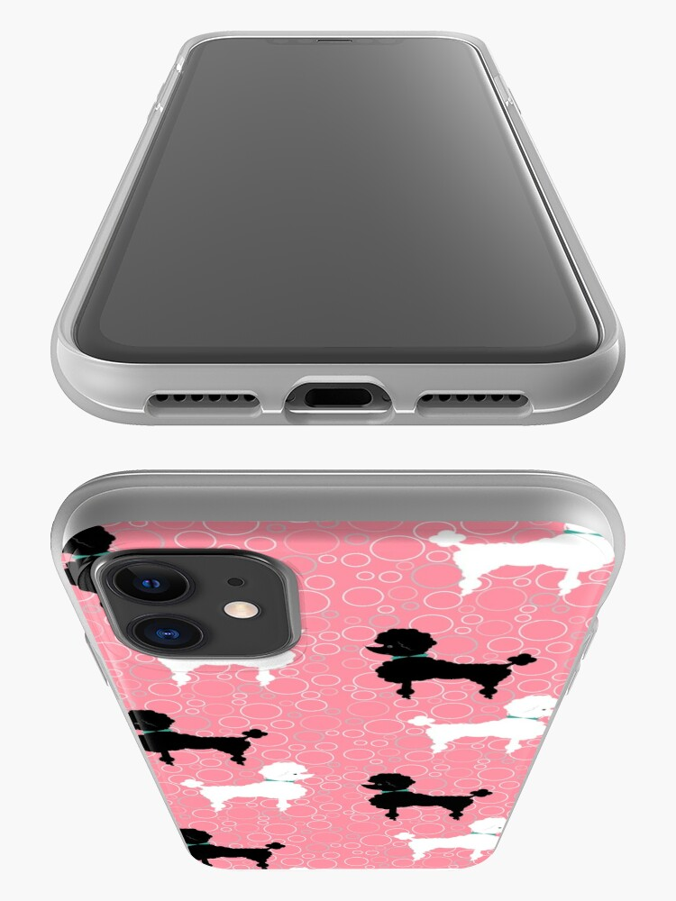 Alternate view of Pink Poodle iPhone Case & Cover