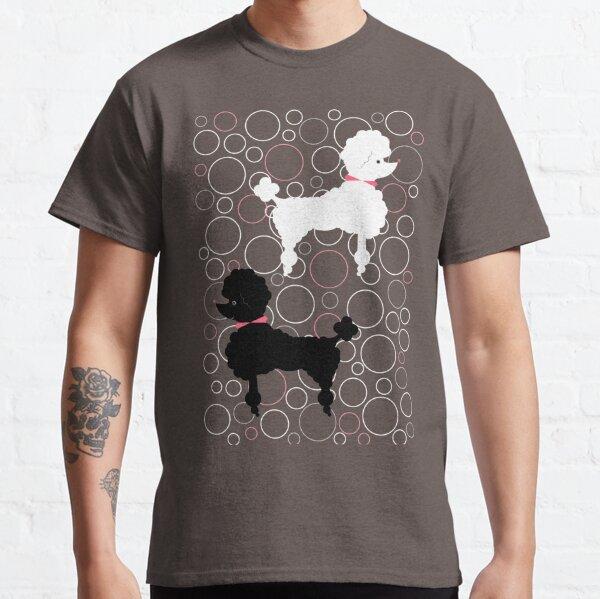 Aqua Poodle Classic T-Shirt
