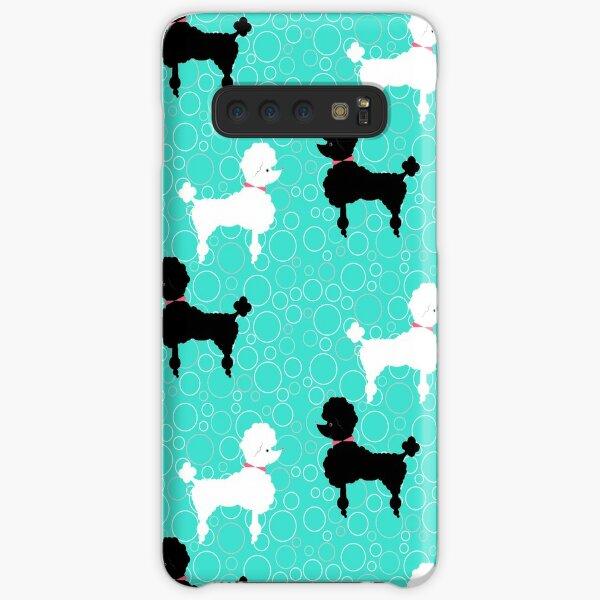 Aqua Poodle Samsung Galaxy Snap Case