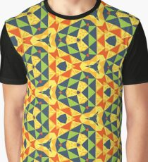 triangle reason modern texture seamless colorful repeat pattern Graphic T-Shirt