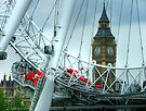 Big Ben Through The Eye by Colin  Williams Photography