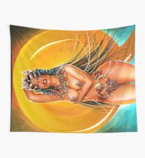Gold QUEEN Wall Tapestry