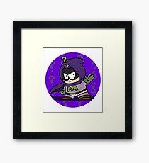 Mysterion superhero Framed Print