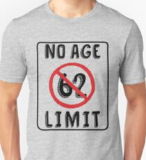 No Age Limit 62nd Birthday Gifts Funny B Day For 62 Year Old Unisex T