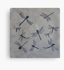 The Swarm Canvas Print