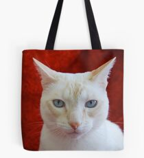 Oscar on Red Tote Bag