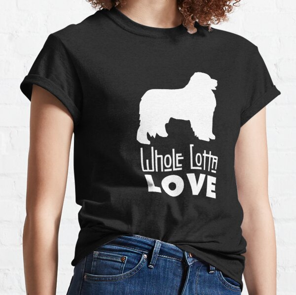 Whole Lotta Love Newfie Classic T-Shirt