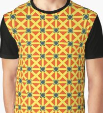 geometry lines triangle modern seamless colorful repeat pattern Graphic T-Shirt