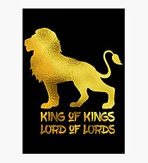 Gold King Photographic Print