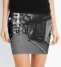straight & narrow Mini Skirt