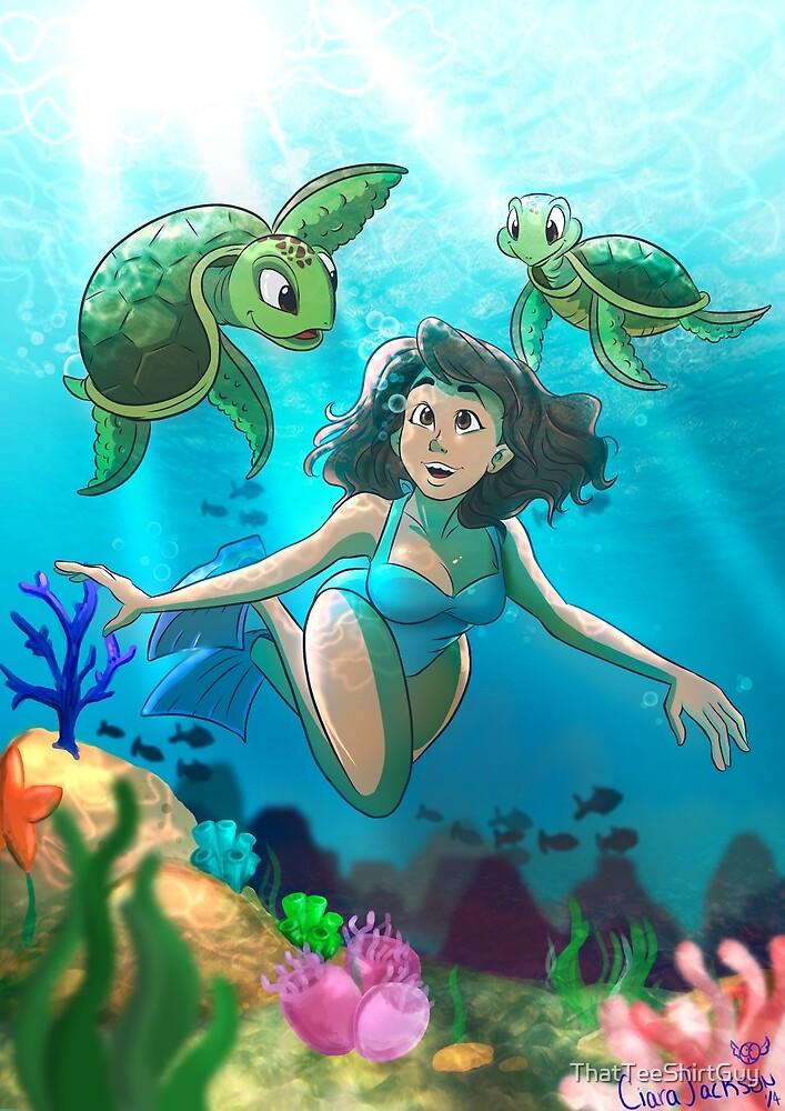 Sea Turtles, mate. by ThatTeeShirtGuy