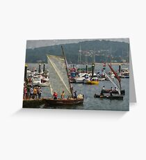 Wood and saltre Greeting Card
