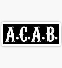 A.C.A.B. Sticker