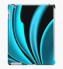 Abstract Fractal Colorways 02 Pacific Blue iPad Case/Skin