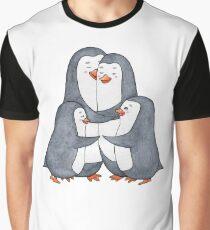 Penguins family. Hug Graphic T-Shirt