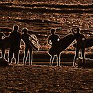 Manly Beach Surfers by ShotsOfLove