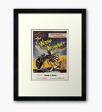 Zaago presents: The Wasp Woman Framed Print
