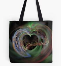 Opening of The Heart Tote Bag
