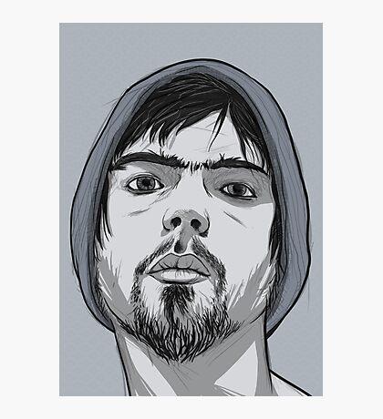 Idealised Asymmetrical Sefl Photographic Print