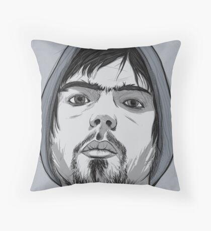 Idealised Asymmetrical Sefl Throw Pillow