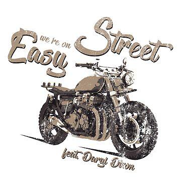 Daryl Dixon Motorbike by diekleineisa