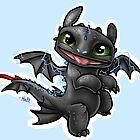 Baby Toothless by Unicornarama