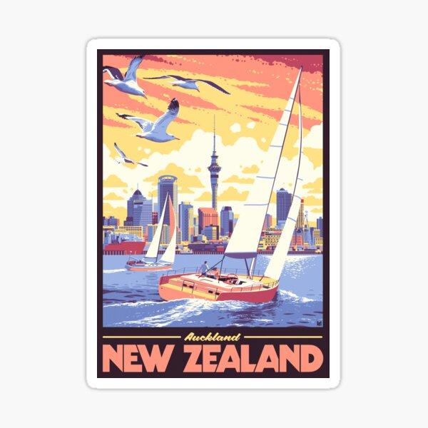 Auckland, NZ Sticker