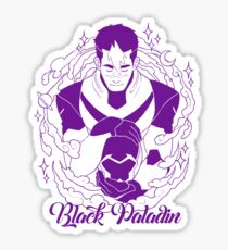 Black Paladin Sticker