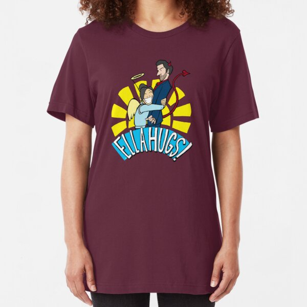 Ella Hugs Slim Fit T-Shirt