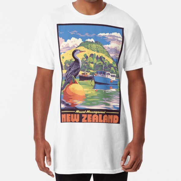 Mount Maunganui, NZ Long T-Shirt