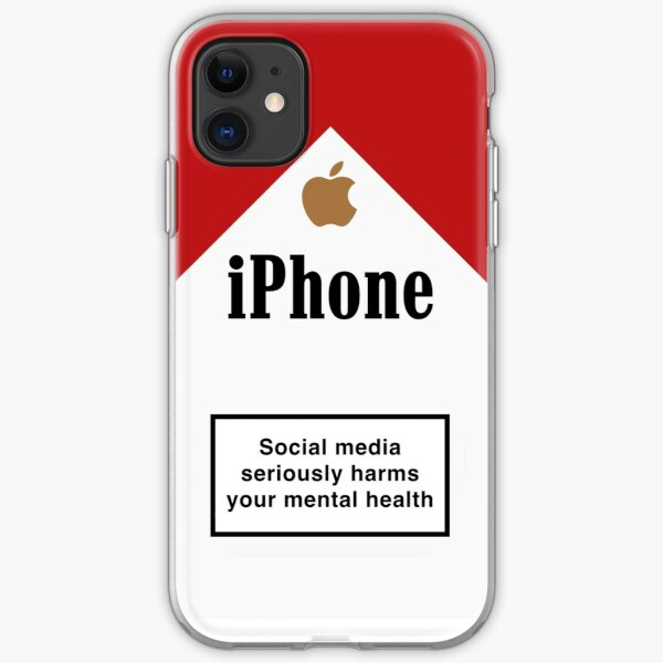 Iphone cigarette packet iPhone Soft Case