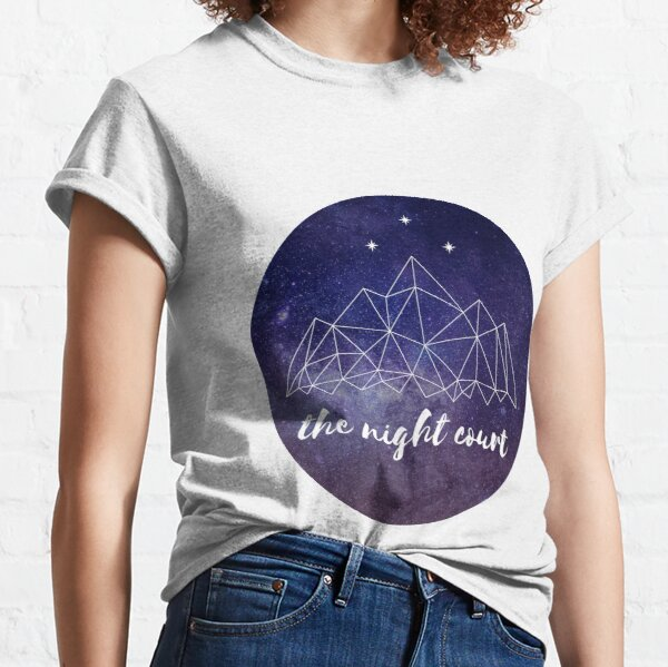 The night court w/ text Classic T-Shirt