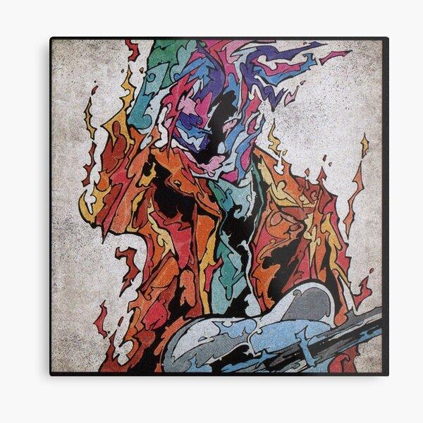 Miyavi Firebird Designs Metal Print