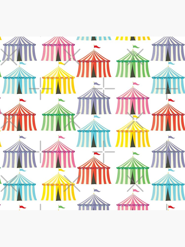 colourful circus tents by duxpavlic