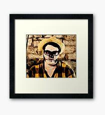 Zaago the Master of Horror Framed Print