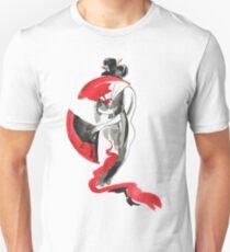 Geisha, Watercolor Japanese painting Unisex T-Shirt