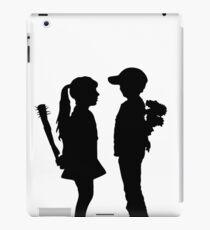Banksy Boy Meets Girl! iPad Case/Skin
