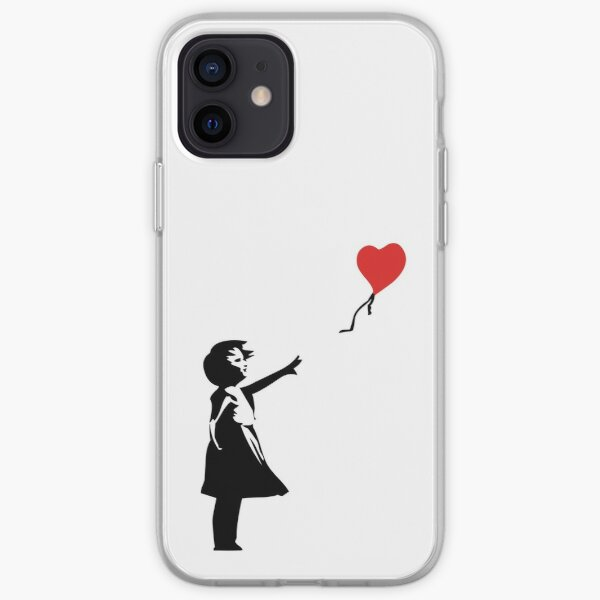 Banksy Letting Love Go! Balloon Girl!  iPhone Soft Case