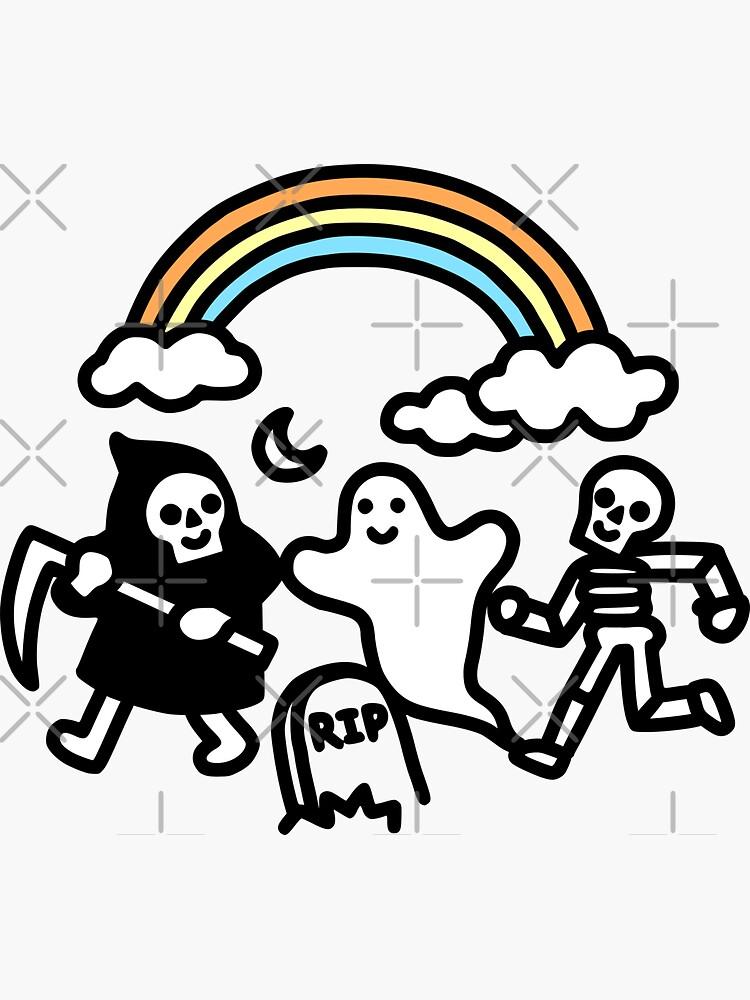 Spooky Pals by obinsun