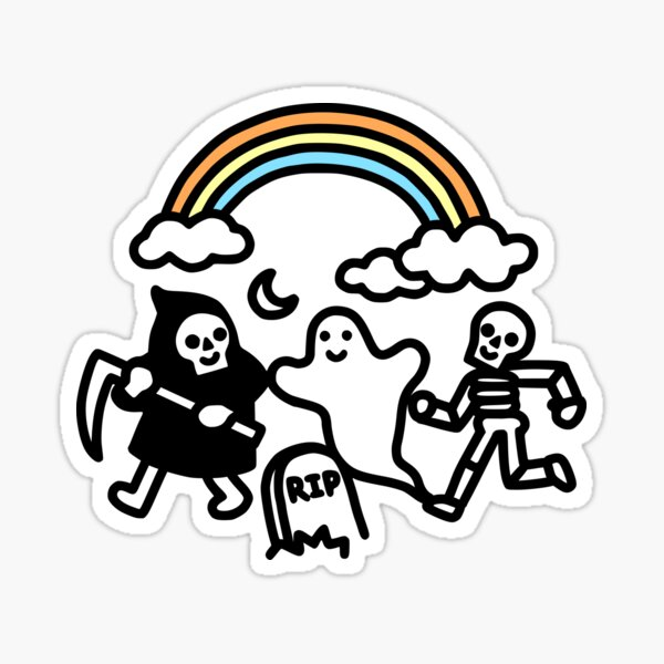 Spooky Pals Sticker