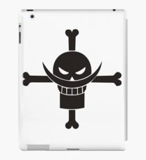 One Piece - Whitebeard Logo Design for T-Shirts, Cases, Cups and more! iPad Case/Skin
