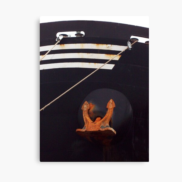 Bow and Anchor photo Canvas Print