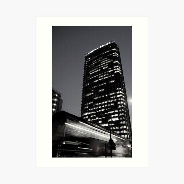 Centre Point at Night Art Print