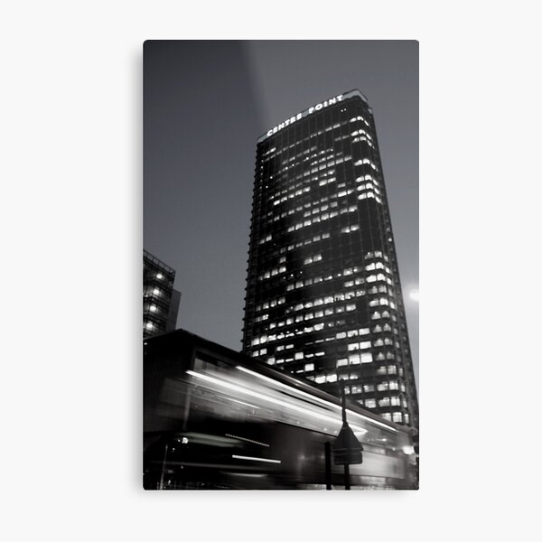 Centre Point at Night Metal Print