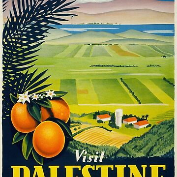 Art Deco Palestine Poster  by Goosekaid