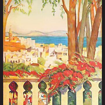 Tanger Affiche L'Art Déco by Goosekaid