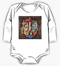 Surreal Face One Piece - Long Sleeve