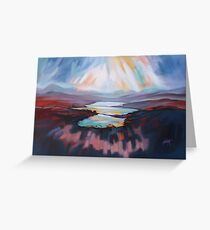 Loch Gary Colours Greeting Card