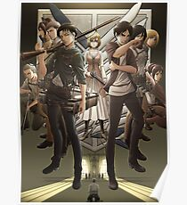 Attack on Titan Season 3 Poster Design Poster